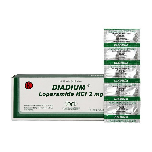 DIADIUM 2 MG BOX 100 TABLET